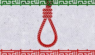Iran Executions Illustration by Greg Groesch/The Washington Times