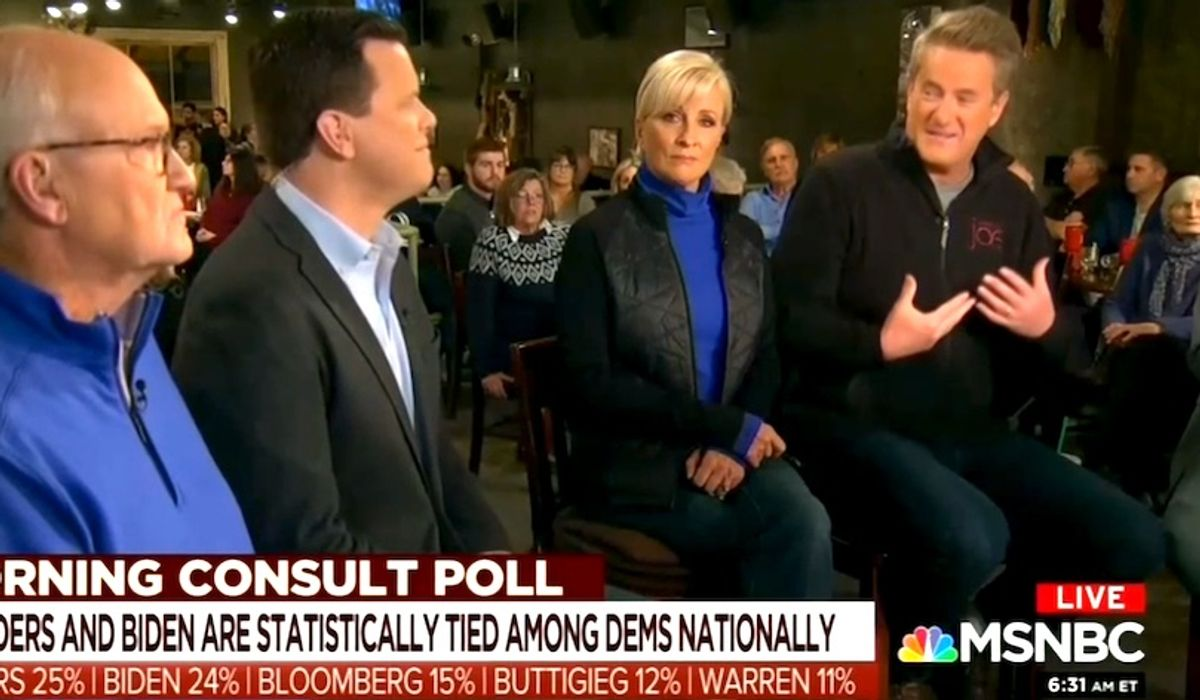 Scarborough frets over 'panicked calls' from Dems, 'fear' that Trump can trounce 2020 field