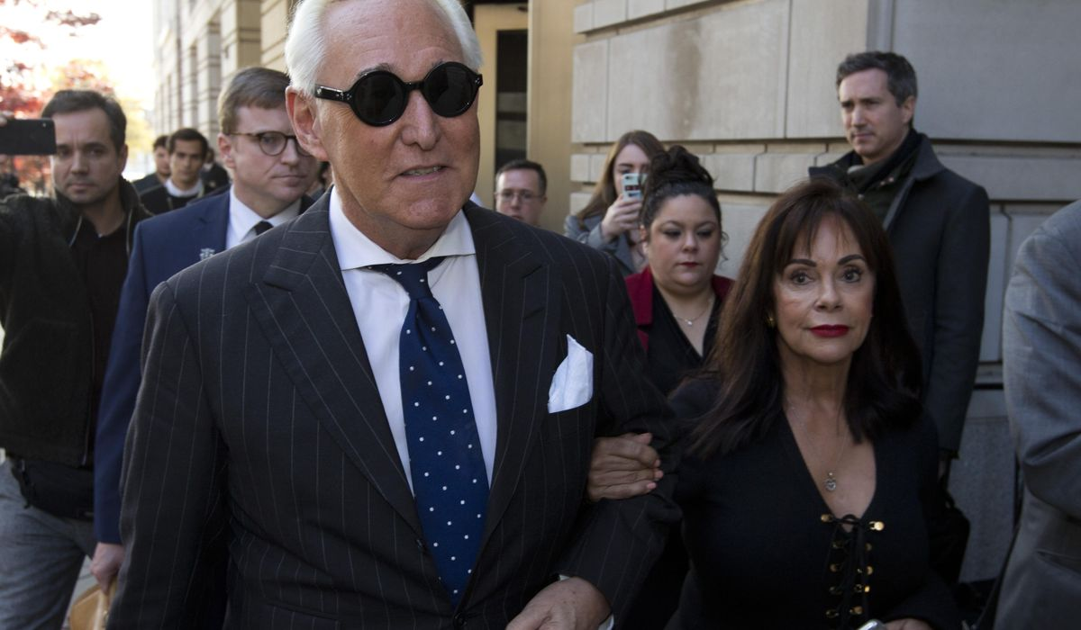 Trump rips case against Roger Stone, says 'stay tuned' as convicted ally prays for pardon
