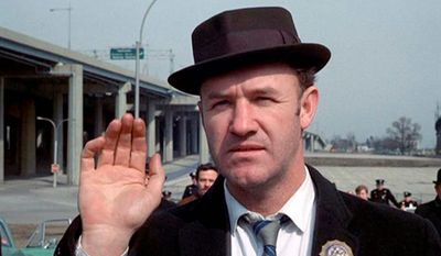 Gene Hackman in William Friedkin's 1971 film, 'The French Connection'