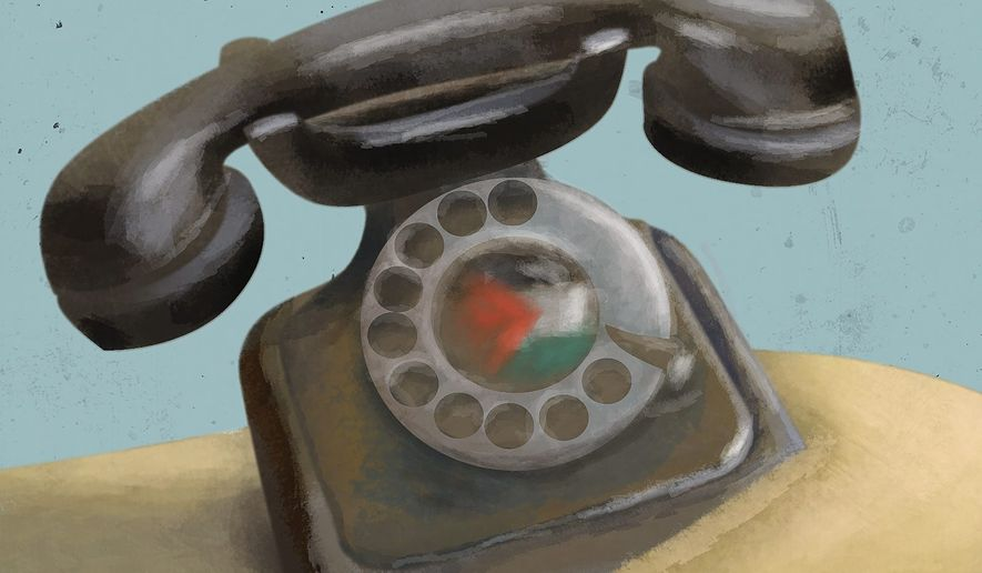 Illustration on Palestinian obsolescence by Linas Garsys/The Washington Times