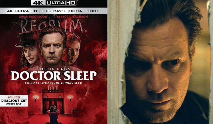 """Ewan McGregor stars in """"Doctor Sleep,"""" now available on 4K Ultra HD from Warner Bros. Home Entertainment."""