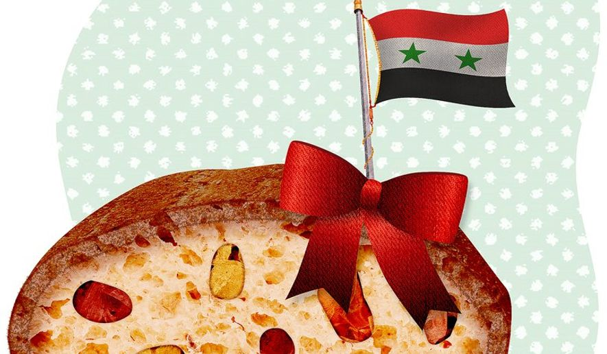 Syrian Fruitcake Illustration by Greg Groesch/The Washington Times