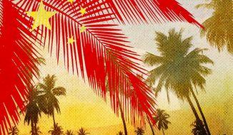 China Palms Illustration by Greg Groesch/The Washington Times