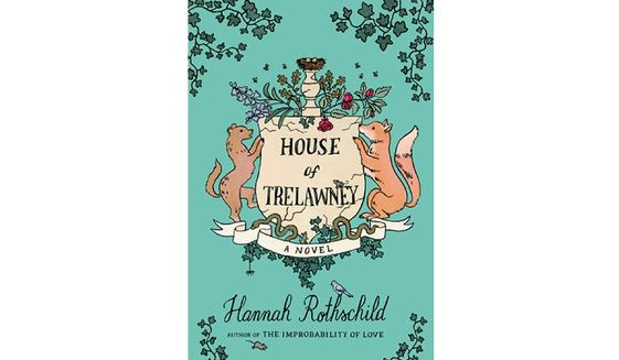 'House of Trelawney' (book cover)