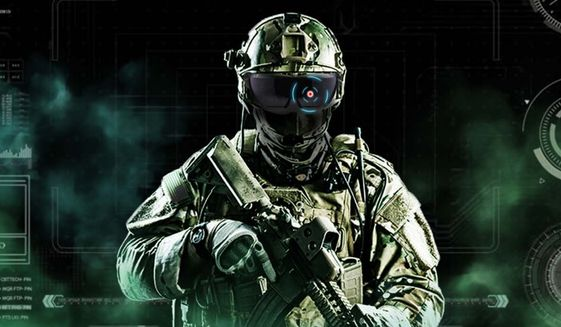 The U.S. Army's fiscal year 2021 budget request includes the resources to purchase over 40,000 Integrated Visual Augmentation Systems (IVAS). The goggles allow troops to scan the battlefield while taking in additional information such as thermal signatures. (Image: U.S. Army)