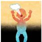 Illustration on post birth abortion criteria by Alexander Hunter/The Washington Times
