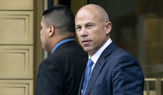 In this July 23, 2019, photo, California attorney Michael Avenatti walks from a courthouse in New York, after facing charges. (AP Photo/Craig Ruttle)