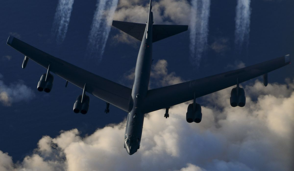 U.S. counters China's bomber incursions with B-52 flight near Taiwan