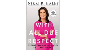 'With All Due Respect' (book cover)