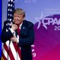 President Trump has been on the CPAC podium since his campaign days and sources say he will return this year. (Associated Press)