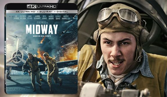 """Nick Jonas co-stars in """"Midway,"""" now available on 4K Ultra HD from Lionsgate  Home Entertainment."""