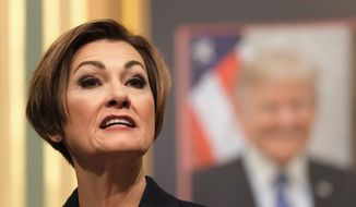 Now that Iowa Gov. Kim Reynolds has made three new appointments to the state's Supreme Court, lawmakers are trying again to pass legislation for a 72-hour abortion waiting period. (ASSOCIATED PRESS)