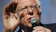 Democratic presidential candidate Sen. Bernie Sanders, I-Vt., speaks during a campaign event at the University of Nevada, Las Vegas, Tuesday, Feb. 18, 2020, in Las Vegas. (AP Photo/Patrick Semansky)
