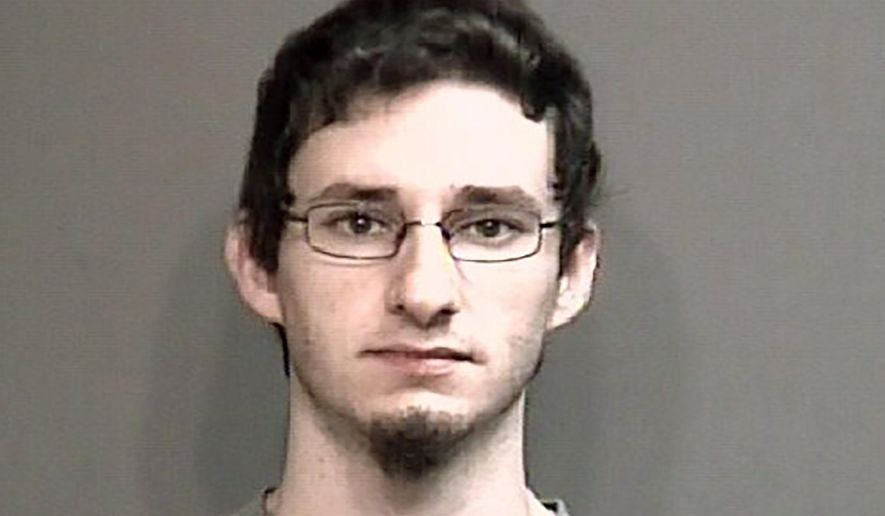 FILE - This undated file photo provided by Boone County Sheriff's Department in Columbia, Mo., shows Joseph Elledge. Prosecutors have charged Elledge, the American husband of a Chinese woman who has been missing since October, 2019, with first-degree murder in her death, even though her body hasn't been found. Elledge, was charged Wednesday, Feb. 19, 2020, with first-degree murder in the death of 28-year-old Mengqi Ji. (Boone County Sheriff's Department via AP, File)