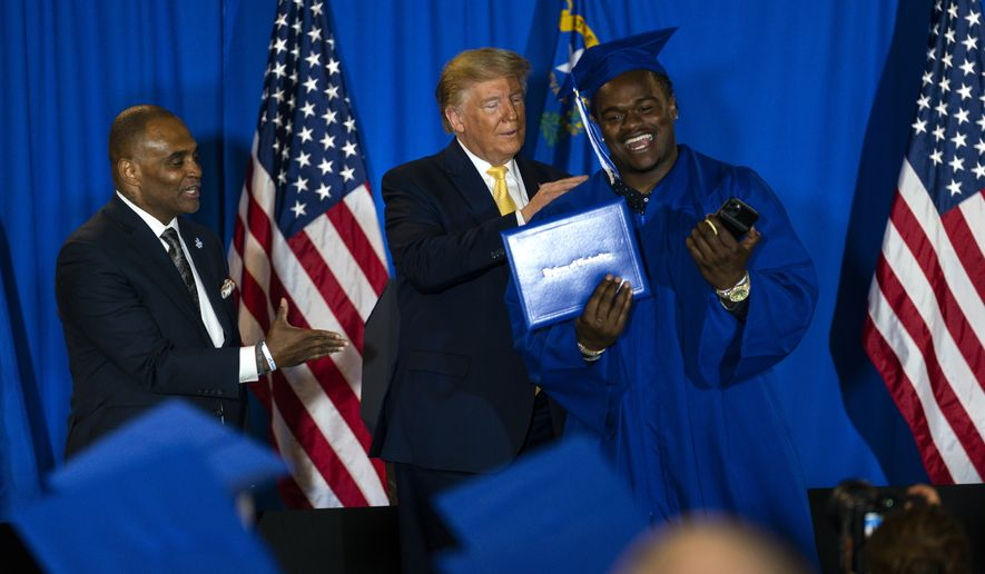 Trump Inspires Former Prisoners: 'You Are Made by God for a Great and Noble Purpose'
