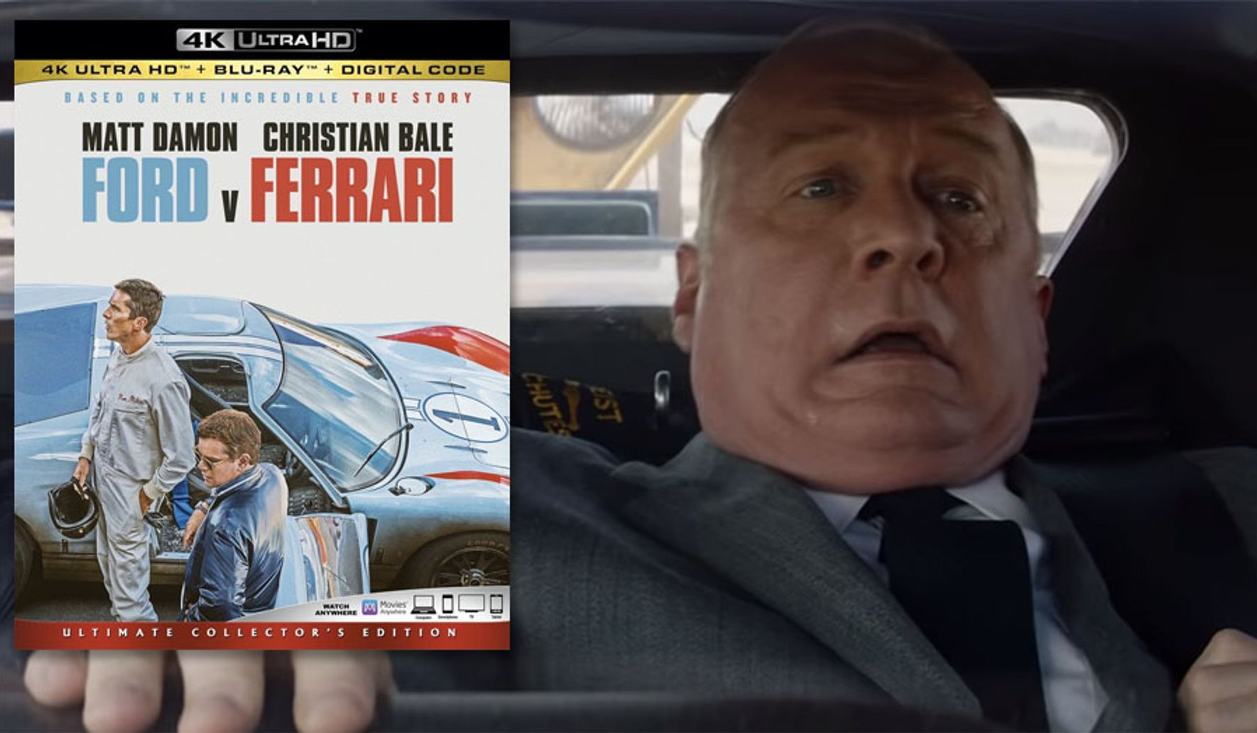 Ford V Ferrari Ultimate Collector S Edition 4k Ultra Hd Review Washington Times