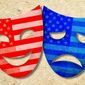 Political Masks Illustration by Greg Groesch/The Washington Times