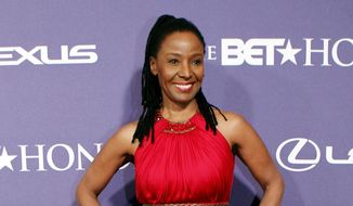 In this Jan. 14, 2012, file photo, former model and restaurateur B. Smith arrives at the BET Honors red carpet in the Warner Theatre in Washington. Smith died Saturday, Feb. 22, 2020, at her Long Island, New York, home, after battling early onset Alzheimer's disease, according to a family statement on social media. She was 70. (AP Photo/Jose Luis Magana, File)