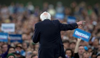 Presidential candidate Sen. Bernard Sanders is running away with the Democratic nomination. (Associated Press)