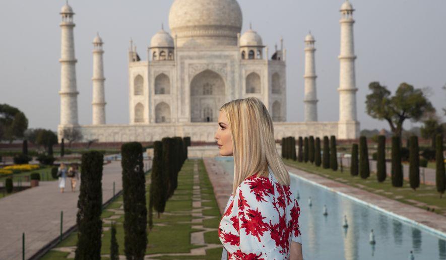 Ivanka Trump Embraces Taj Mahal Meme I Made Many New Friends Washington Times