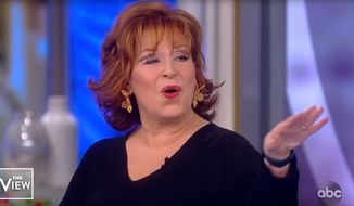 "Joy Behar of ABC's ""The View"" discusses the 2020 presidential election, Feb. 24, 2020. (Image: ABC, ""The View"" video screenshot)"