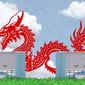 China Dragon Reactors Illustration by Greg Groesch/The Washington Times