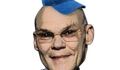 James Carville Illustration by Greg Groesch/The Washington Times