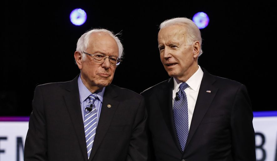 Democratic presidential candidates have their own proposals to deal with the coronavirus crisis. (Associated Press/File)