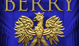 """This cover image released by Minotaur shows """"The Warsaw Protocol,"""" a novel by Steve Berry. (Minotaur via AP)"""