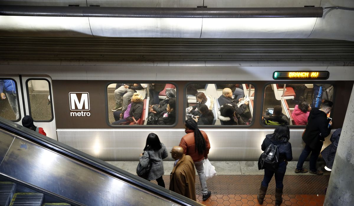 Bowser pushes for late-night Metro to boost D.C. economy