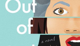 "This cover image released by Flatiron shows ""Oona Out of Order"" by Margarita Montimore. (Flatiron via AP)"