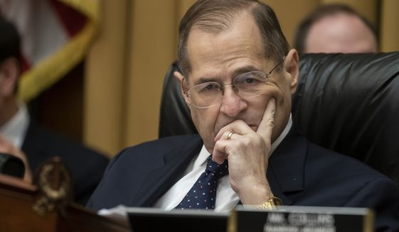 House Judiciary Committee Chairman Jerrold Nadler, New York Democrat is shown in this May 2019 file photo. (AP Photo/J. Scott Applewhite) ** FILE **
