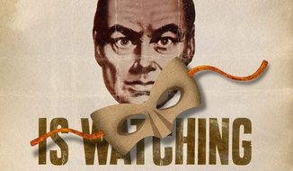 Communism Mask Falling Illustration by Greg Groesch/The Washington Times