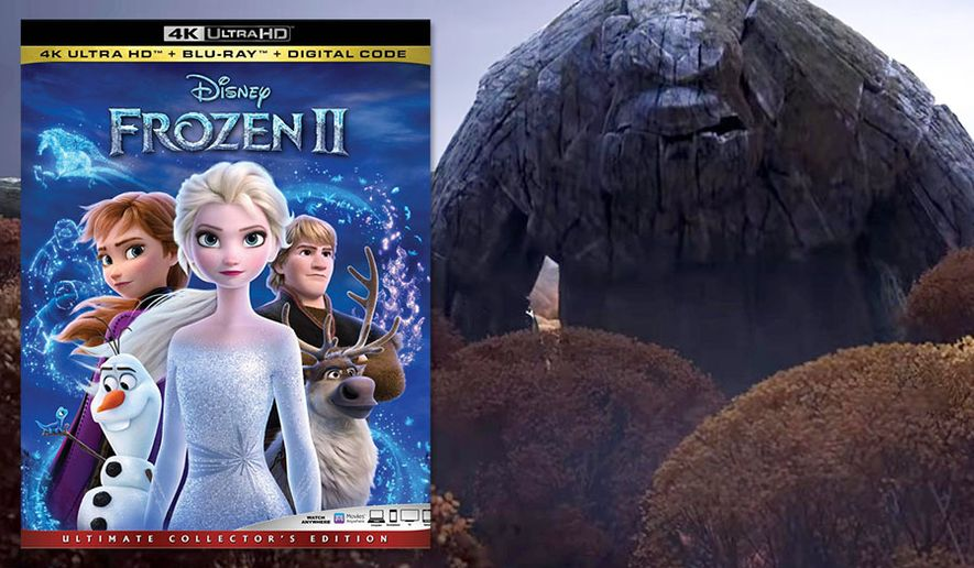 """An Earth Giant from """"Frozen II,"""" now available on 4K Ultra HD from Walt Disney Studios Home Entertainment."""