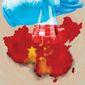 Coronavirus and China  illustration by Linas Garsys / The Washington Times
