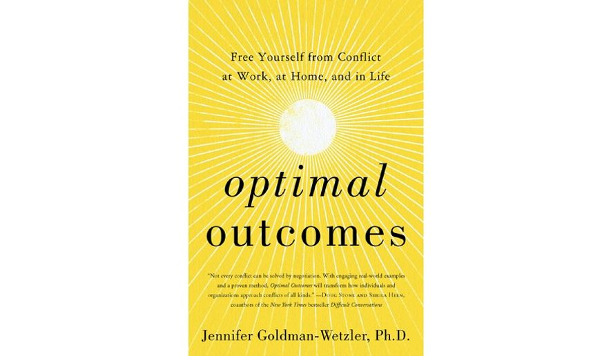 'Optimal Outcomes' (book cover)