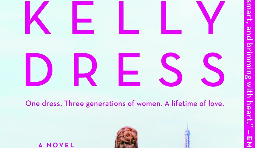 """This cover image released by Graydon House shows """"The Grace Kelly Dress"""" by Brenda Janowitz. (Graydon House via AP)"""