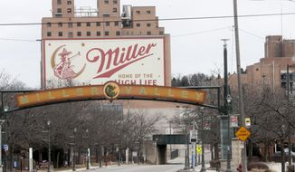 In this Feb. 27, 2020, file photo, the Molson Coors facility is seen in Milwaukee. Someone placed a noose several years ago on the locker of Anthony Ferrill, a Wisconsin brewery employee who last week opened fire on his co-workers, the brewery operator said Wednesday, March 4, 2020, confirming at least one instance of racial harassment against him as police continue to piece together his motive. (AP Photo/Morry Gash, File) **FILE**
