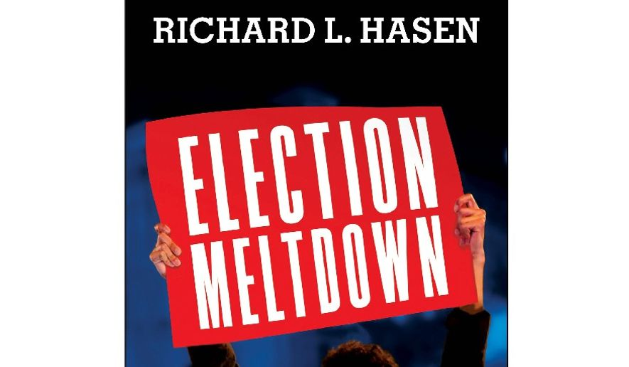 'Election Meltdown' (book cover)
