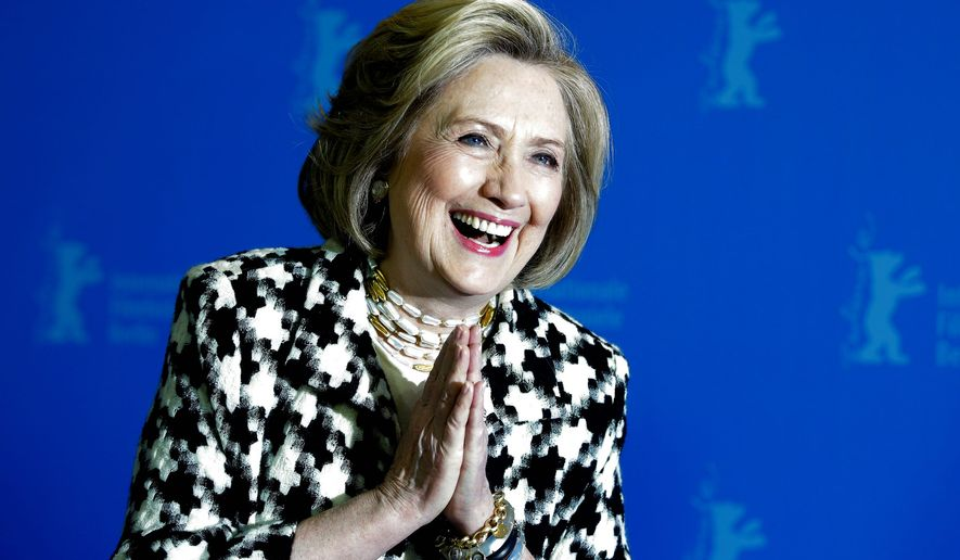 One critic notes that former Secretary of State Hillary Clinton seems to be poised to be tapped as a running mate to the Democratic nominee. (Associated Press)