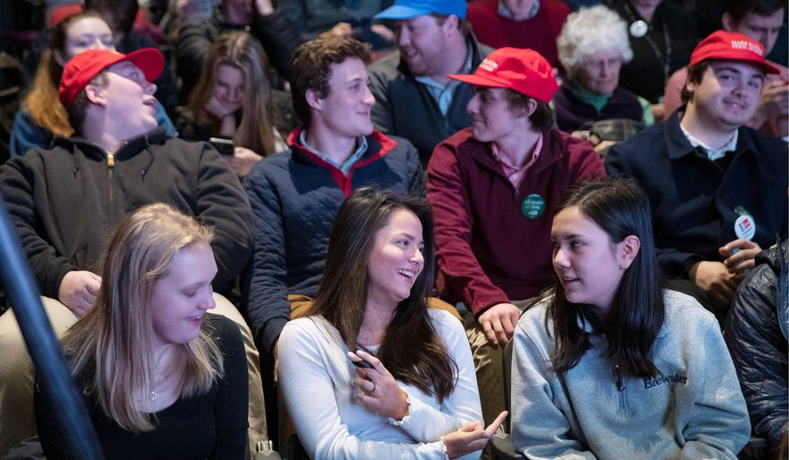 Sen. Bernard Sanders is popular among young voters, but poll results show that they aren't casting their ballots in large numbers. (Associated Press)