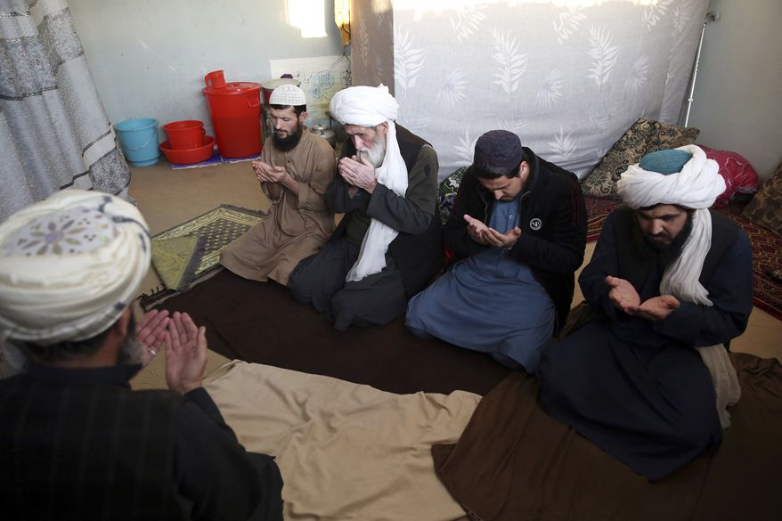 Under an Afghan presidential decree, 1,500 Taliban prisoners are to be released as a goodwill gesture to get intra-Afghan negotiations started. (Associated Press/File)