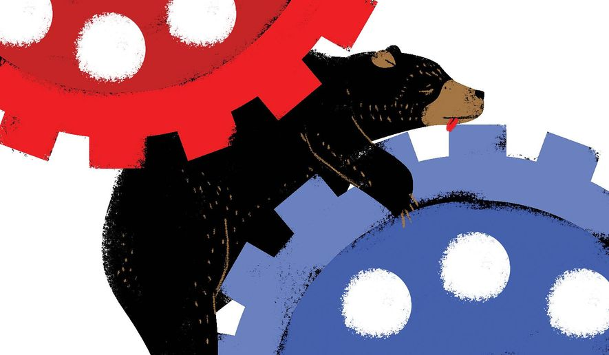 Proposed sanctions on Russia will backfire illustration by Linas Garsys / The Washington Times