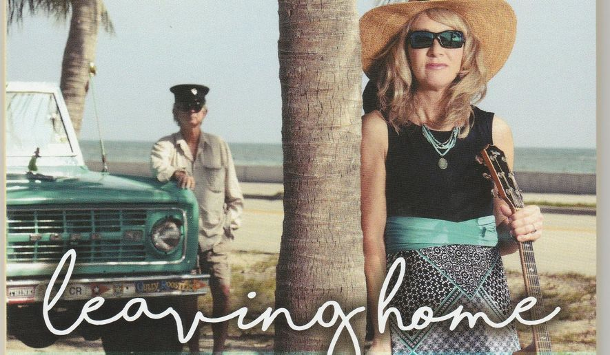 """This cover image released by Conch Town Music shows """"Leaving Home"""" by Juliana MacDowell. (Conch Town Music via AP)"""