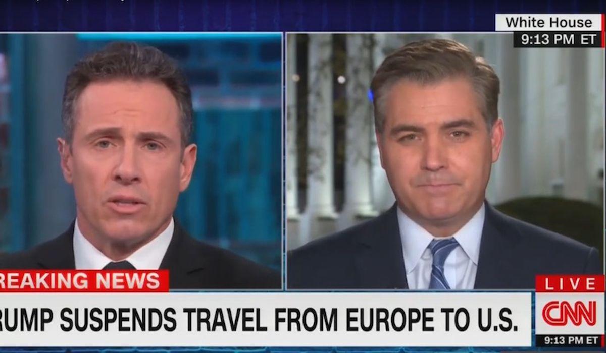 CNN's Jim Acosta: Trump's reference to coronavirus origins 'smacking of xenophobia'