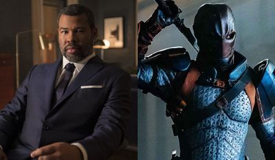 """Jordan Peele as the narrator in """"The Twilight Zone: Season One,"""" and Deathstroke causes problems in """"Titans: The Complete Second Season,"""" now available in the Blu-ray format."""