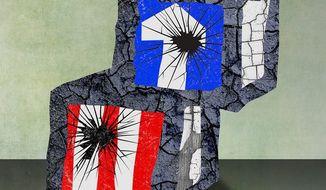 Broken Head Start Program Illustration by Greg Groesch/The Washington Times