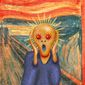 The Scream Illustration by Greg Groesch/The Washington Times