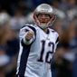 Quarterback Tom Brady has four wins against Washington in five regular-season games in his career with New England, where he'll soon leave as a free agent. (ASSOCIATED PRESS)